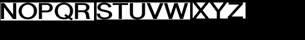 Newsanse Bold Font UPPERCASE