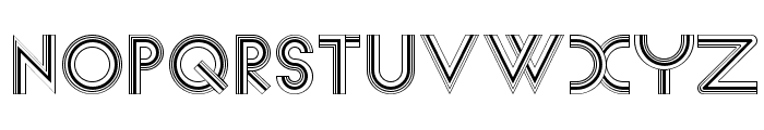 Newsense Font UPPERCASE