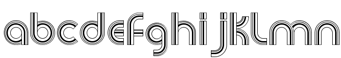 Newsense Font LOWERCASE