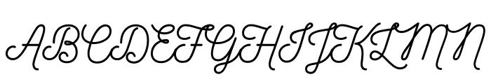 Nickainley-Normal Font UPPERCASE