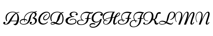 Nicone-Regular Font UPPERCASE
