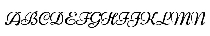 Niconne Font UPPERCASE