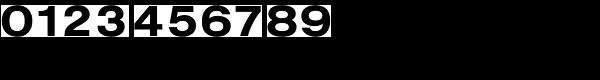 Nimbus Sans D Extended Bold Font OTHER CHARS