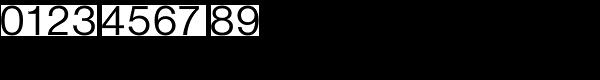 Nimbus Sans D Regular Font OTHER CHARS