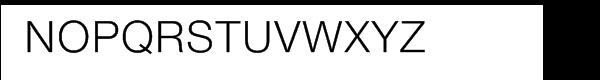 Nimbus Sans Novus Font UPPERCASE