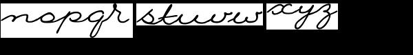 Nina Font LOWERCASE