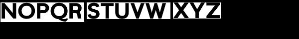 Niteweit Bold Font UPPERCASE