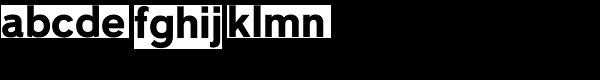 Niteweit Bold Font LOWERCASE