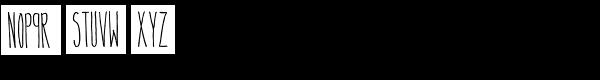 Nivel Font LOWERCASE