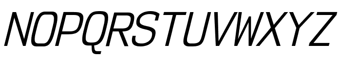 NK57MonospaceScBk-Italic Font UPPERCASE