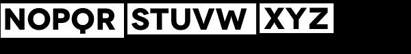 Novecento Wide Bold Font UPPERCASE