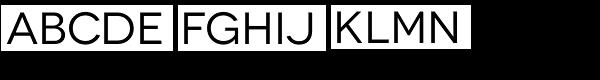 Novecento Wide Normal Font UPPERCASE