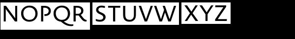 Novel Sans Office Pro Font UPPERCASE