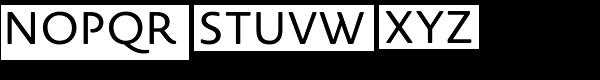 Novel Sans Rounded Pro Font UPPERCASE