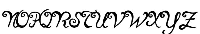 notperfect regular Font UPPERCASE