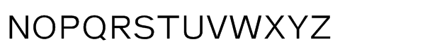 Nurom Std Regular Font UPPERCASE