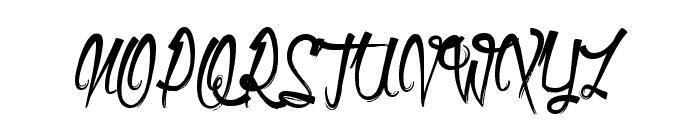 Olympic Branding Font UPPERCASE