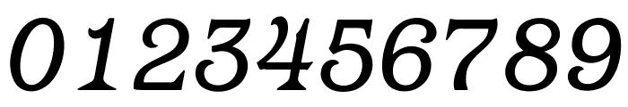 OPTIBarMay-BookItalic Font OTHER CHARS