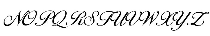 OPTIDiannaScript-LightAgen Font UPPERCASE