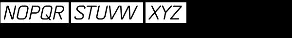 Orca Pro Italic Font UPPERCASE