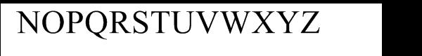 Oron Black Font UPPERCASE