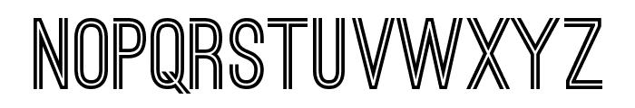 Ostrich Sans Bold Font UPPERCASE