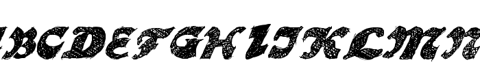 OttoLand Font UPPERCASE