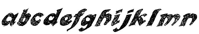OttoLand Font LOWERCASE