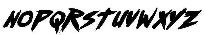 Outrun future Bold Italic Font LOWERCASE