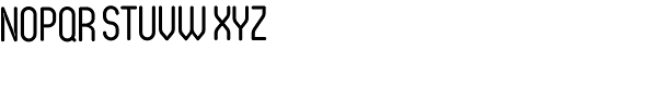 Oval Regular Font UPPERCASE
