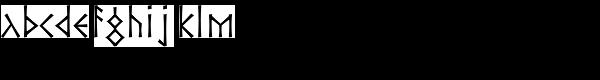 P22 Ornes Pro Bold Font LOWERCASE