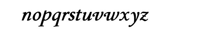 P22 Stickley Text Bold Italic OT Font LOWERCASE
