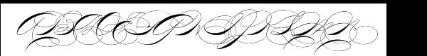 P22 Zaner Four Font UPPERCASE
