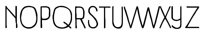 Panforte Condensed Light Font UPPERCASE