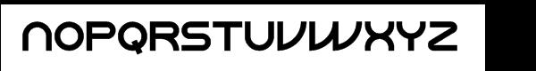 ParaCaps Bold™ Font UPPERCASE