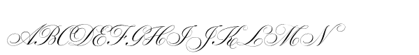 Parfumerie Script Std Old Style  What Font is