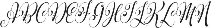 Parisi Condensed otf (400) Font UPPERCASE