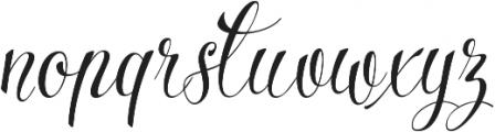 Parisi Condensed otf (400) Font LOWERCASE