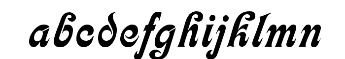Partridge Font LOWERCASE
