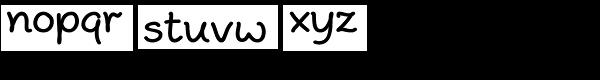 Peppo Font LOWERCASE