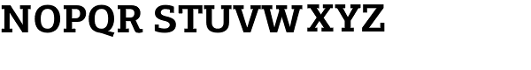 PF Centro Slab Pro Bold Font UPPERCASE