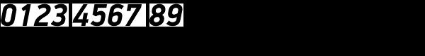 PF Din Display Pro Bold Italic Font OTHER CHARS
