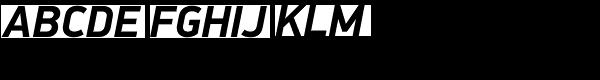 PF Din Display Pro Bold Italic Font UPPERCASE