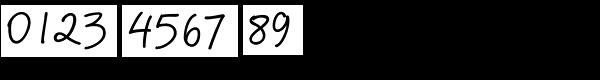 PF Reminder Pro Regular Font OTHER CHARS