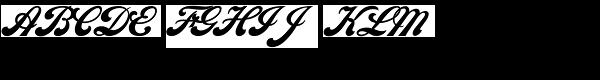 Philly Sport Script D Font UPPERCASE