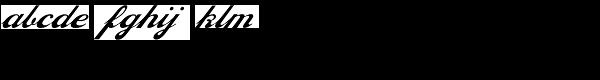 Philly Sport Script D Font LOWERCASE