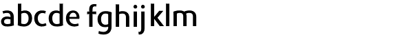 Phoenica Std Medium Font LOWERCASE