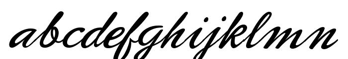 PhoenixScriptFLF Font LOWERCASE