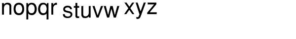 PIXymbols Tolerances Regular Font LOWERCASE