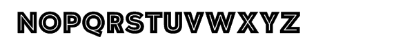 Polarband Regular Font UPPERCASE